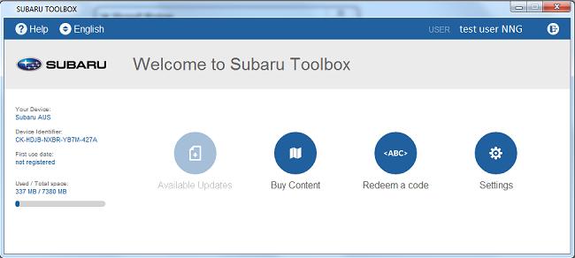 Subaru-na Naviextras com - Map updates for your navigation